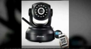 @ROCAM NC300 Wireless IP Pan/Tilt/ Night Vision Network Camera Built-in Microphone With Phone rem