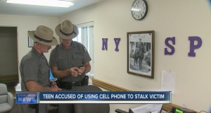 Teen uses cell phone to stalk ex-girlfriend