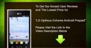 Top LG Optimus Extreme Android Prepaid Phone (Net10) New in 2014