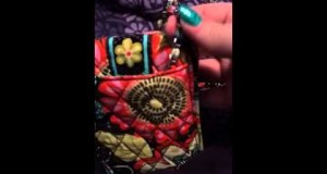 Vera Bradley Cell Phone Crossbody Review :)