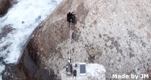 Water Stream Powered Mobile Phone Charger