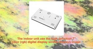 Yesgoshop 7 Wireless Video Intercom Doorbell Door Phone Security Camera